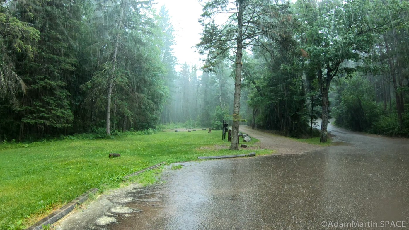 Twelve Foot Falls County Park - Rained Out