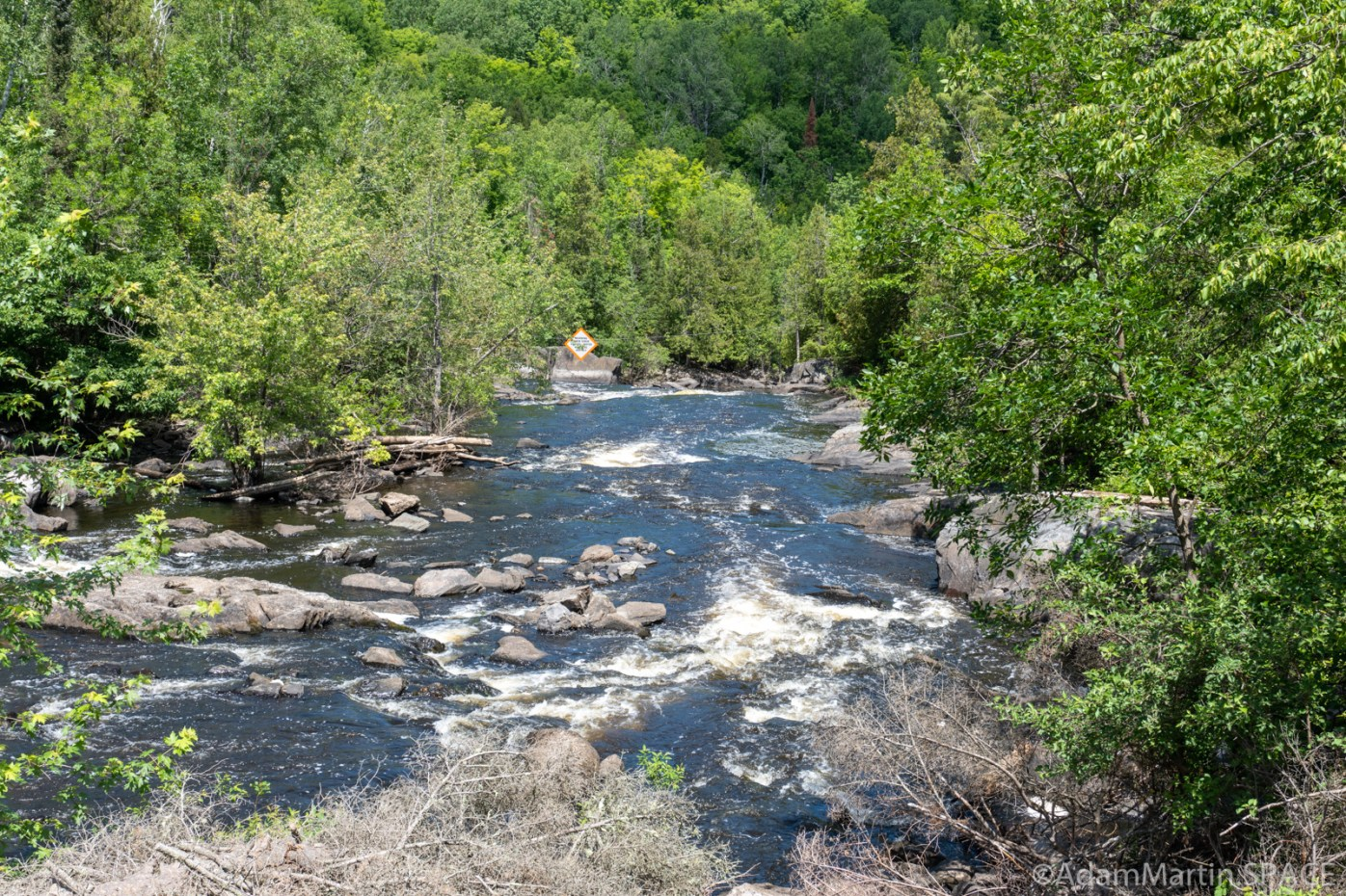 Breakwater Falls - Downstream views