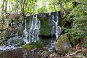Rouse Falls - View below falls