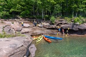 Big Bay State Park - Kayaks taking a break
