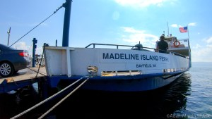 Madeline Island - Ferry docked at La Pointe