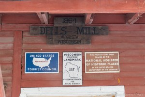 Dells Mill - Historical Register Signs