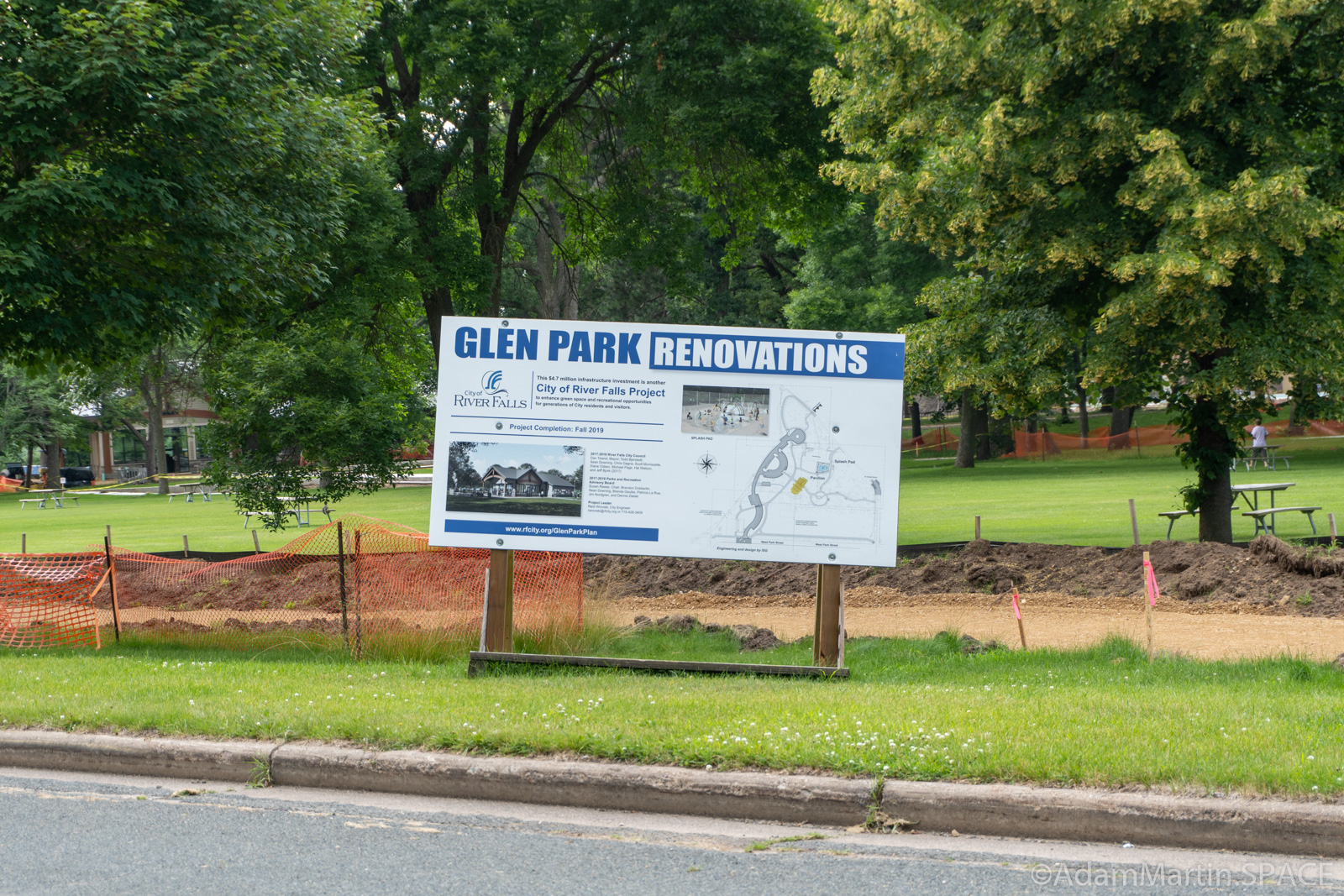 Glen Park - Closed for renovations until fall 2019