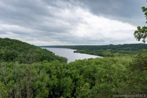 Kinnikinnic State Park - Scenic Overlook of Kinnikinnic River Delta into St Croix River