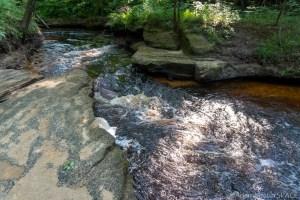 Perry Creek Rapids - Small rapids