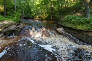 Perry Creek Rapids - View below the falls