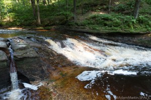 Perry Creek Rapids - View beside the falls