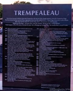 Trempeauleau, WI - Historical plaque