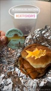 Catfish Days 2019 - Catfish sandwich & local craft beer