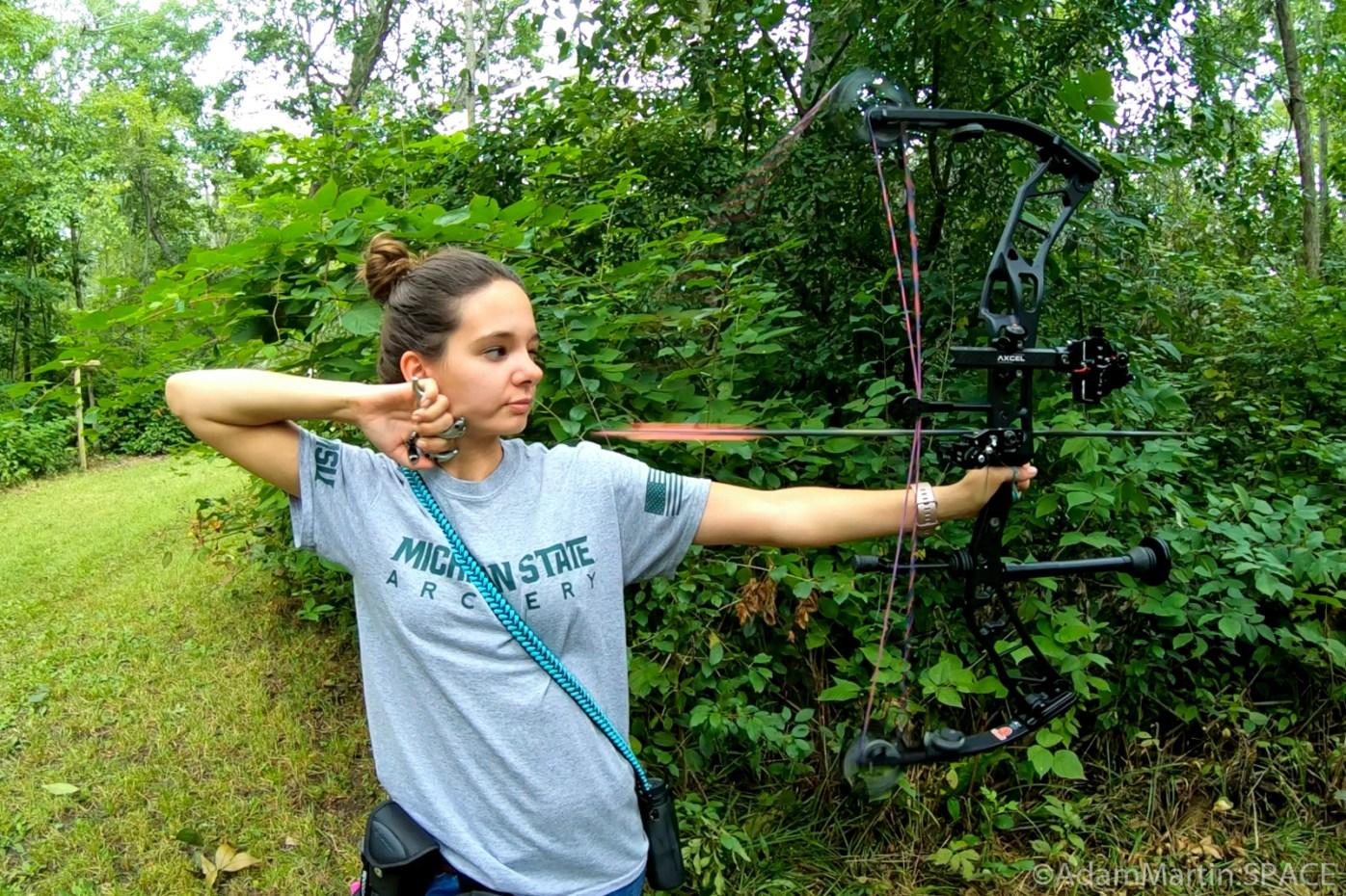 Safari Shoot @ West Allis Bowmen - Erin's Arrow Aimed Accurately Afield