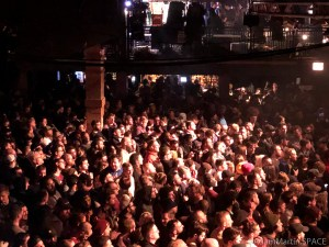 Concord Music Hall - Crowd packed in close to the stage