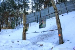 McMiller Sports Center - Targets hung on shotgun patterning range