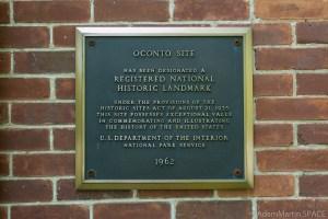 Copper Culture State Park - Registered National Historic Landmark sign