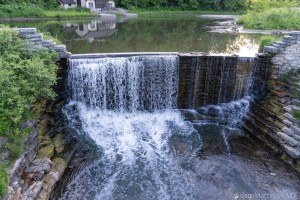 Mill Pond Spillway - Head-on View