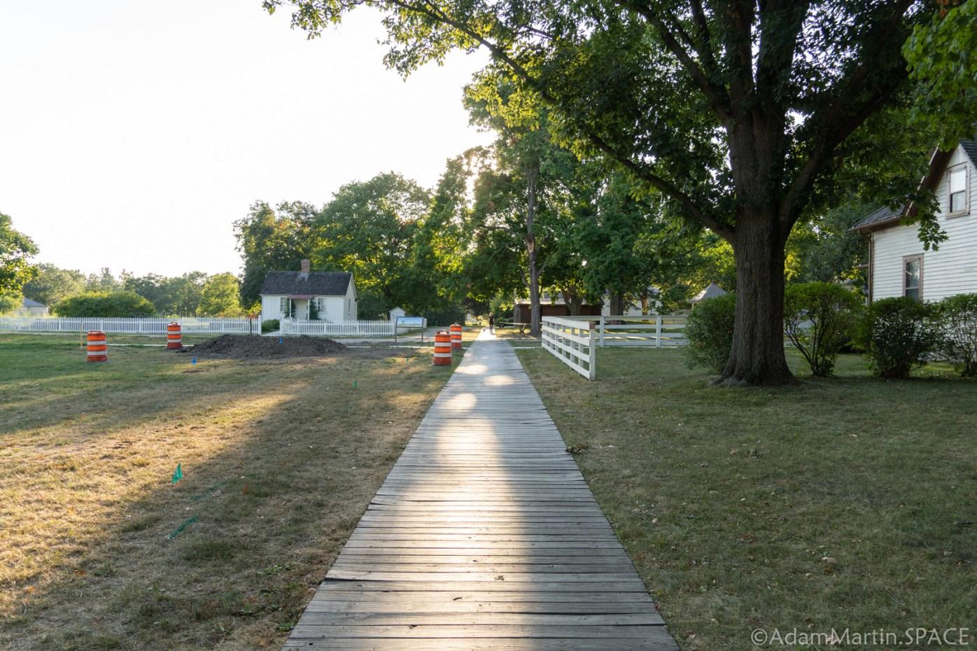 Herbert Hoover National Historic Site - Boardwalk Path