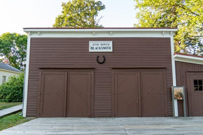 Herbert Hoover National Historic Site - Jesse Hoover's Blacksmith Shop