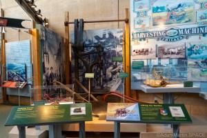 Homestead National Historical Park – Farming display