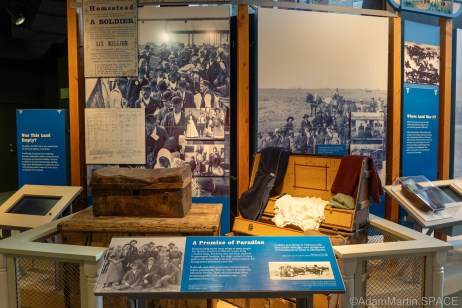 """Homestead National Historical Park - """"A Promise Of Paradise"""" display"""
