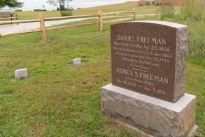 Homestead National Historical Park - Gravesite of Daniel & Agnes Freeman
