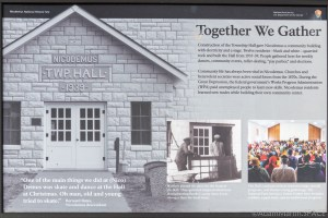 """Nicodemus National Historic Site - """"Together We Gather"""" Sign"""
