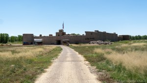 Bent's Old Fort National Historic Site - Exterior View From Afar
