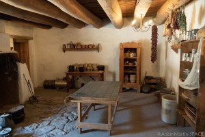 Bent's Old Fort National Historic Site - Kitchen/Dining Area