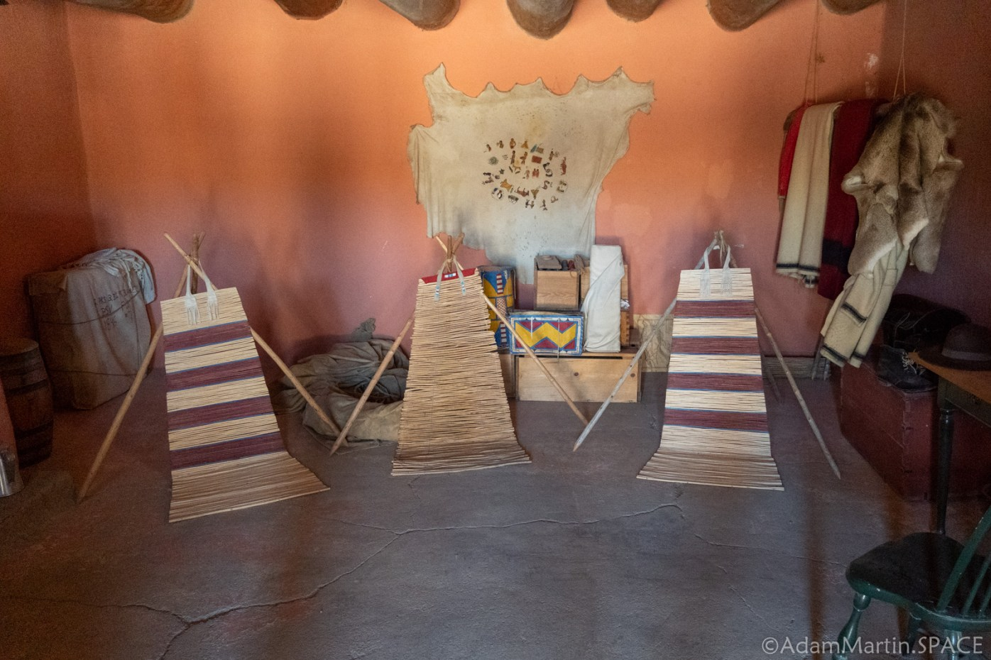 Bent's Old Fort National Historic Site - Plains Indians Trading Shop