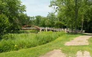 Amundson Park - The Five Shovelmen Bridge