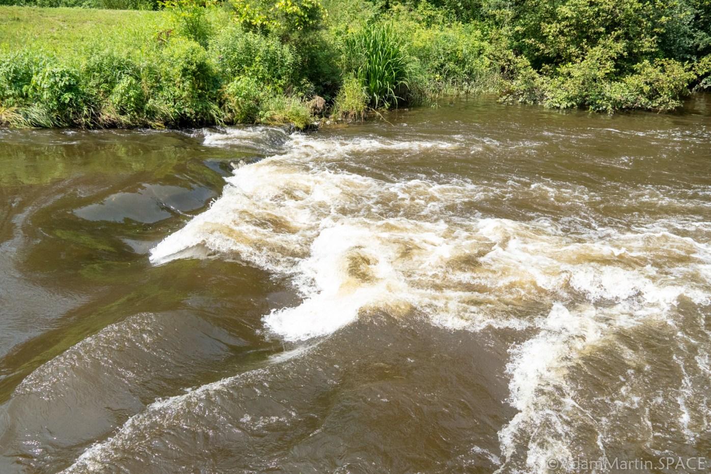 Amundson Park Falls - Side View