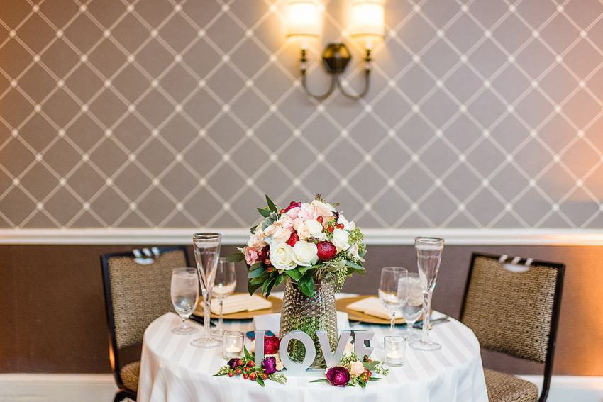 Alexandrian Hotel Wedding reception space by Washington DC Wedding Photographer Adam Mason