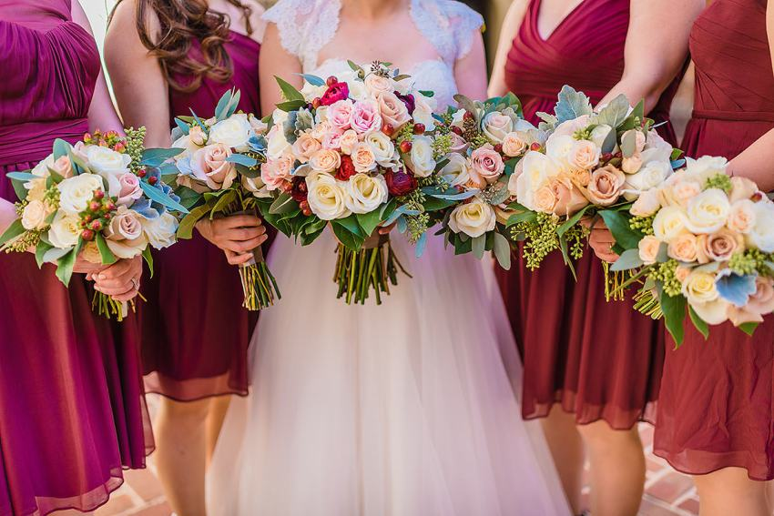 Helen Olivia flowers at Alexandrian Hotel Wedding by Washington DC Wedding Photographer Adam Mason