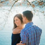 Cherry Blossoms Engagement Photos in DC: Mike & Bethany