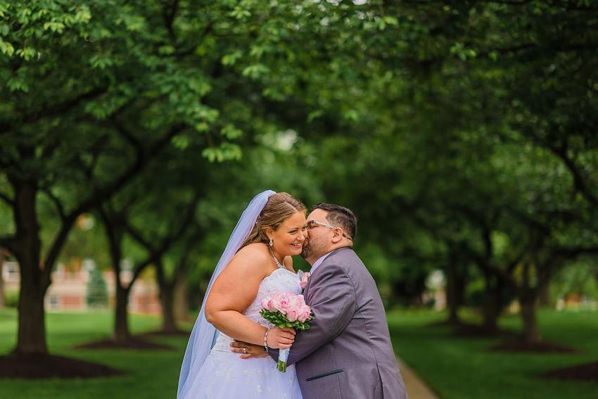 interracial hood college wedding by Washington DC Wedding Photographer Adam Mason