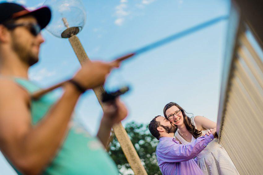 titanic memorial southwest waterfront DC engagement session by Washington DC Wedding Photographer Adam Mason