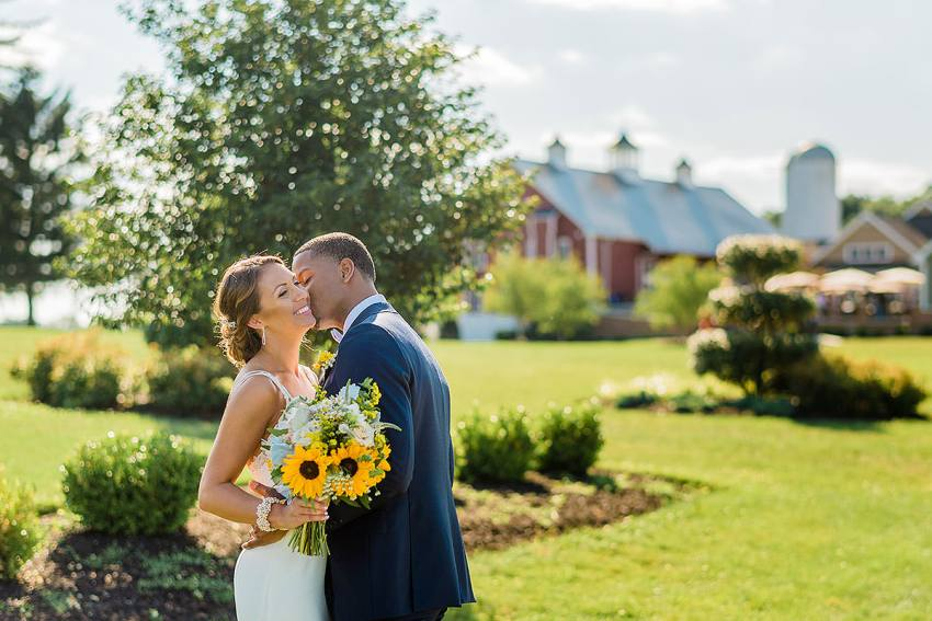 outdoor rustic farm wedding at wyndridge farm by Washington DC Wedding Photographer Adam Mason