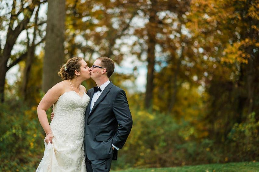fall filled irvine nature center wedding by Washington DC Wedding Photographer Adam Mason