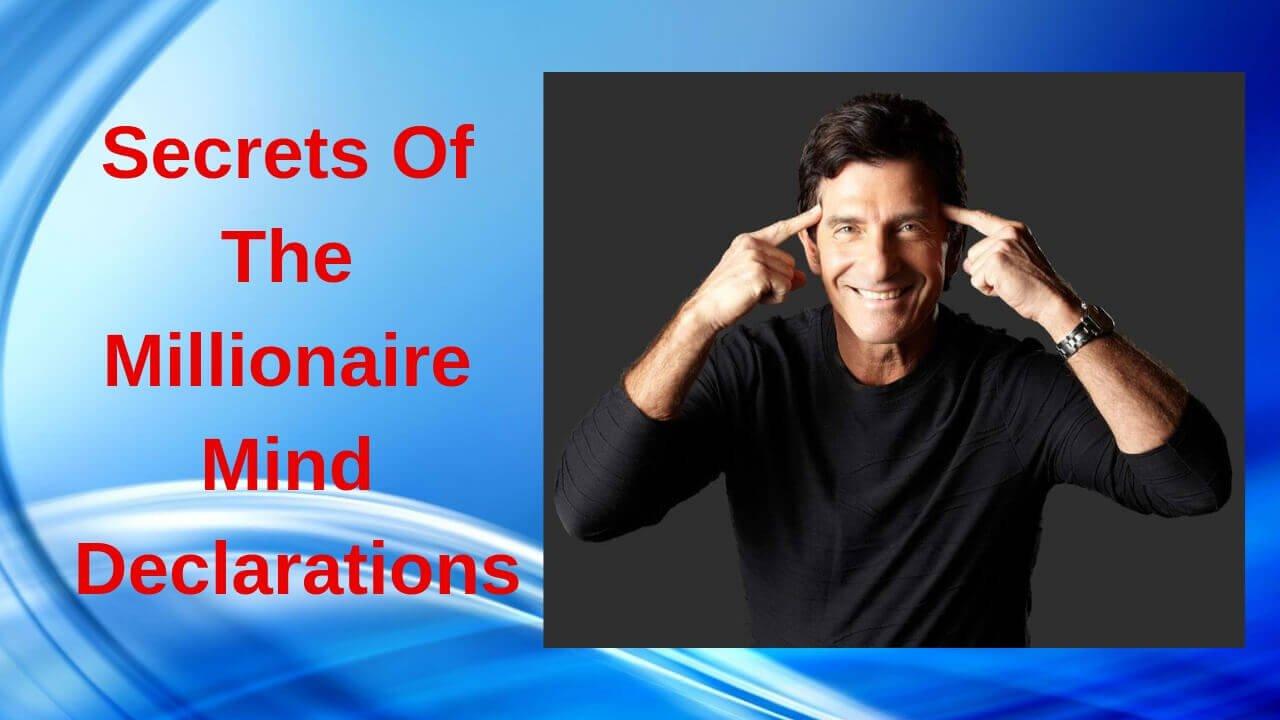 Secrets Of The Millionaire Mind Declarations