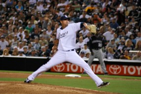 A Pitcher Pitching