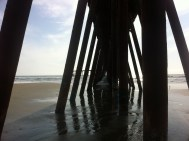 the view from under the boardwalk... you know what happens under there.