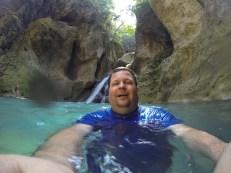 Bassin Bleu Selfie
