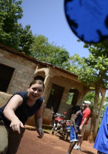 Rebecca Hug - Frisbee