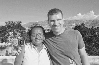 Jim Noreen & Sister Mona at Good Shepherd Orphanage