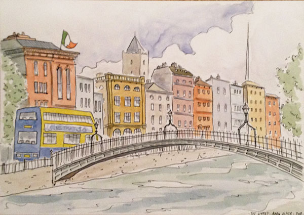Sketch of the Liffey