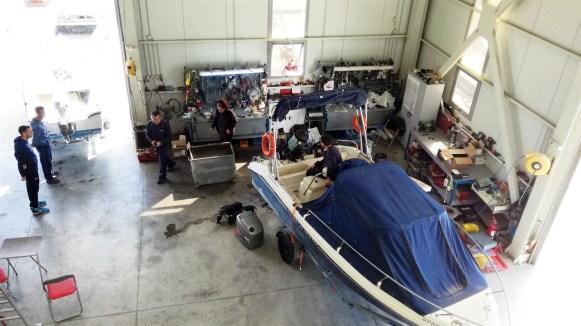 Συνεργείο μηχανών σκαφών