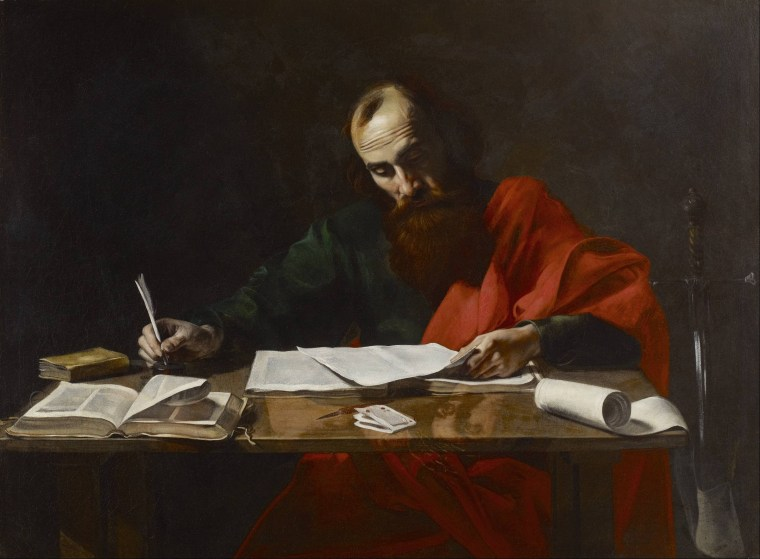 Probably_Valentin_de_Boulogne_-_Saint_Paul_Writing_His_Epistles_-_Google_Art_Project