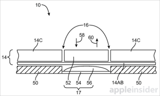 Apple Haptic Patent Diagram