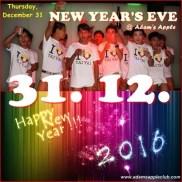 31.12.2015 Happy New Year Adams Apple b