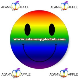 21.06.2017 rainbow smiley Adams Apple Gay Club Chiang Mai c