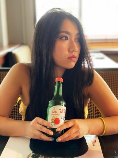Mora, the Jinro Soju Model