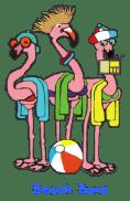 Flamingo-beach-bums-origianl-2-gray outline-2